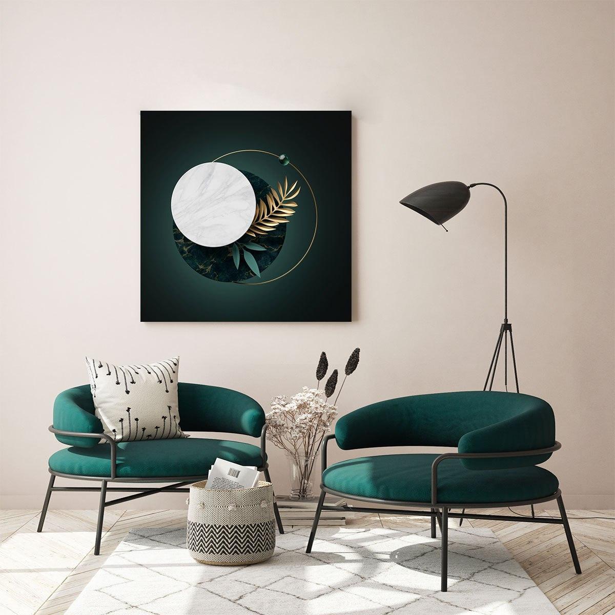 لوحات جدارية - مجسمات ثلاثية الأبعاد لأشكال هندسية دائرية - لوحات جدارية - كانفسي - لوحة فنية جدارية ثري دي بالألوان الجذابة التي تعطي طاقة حيوية وتفاؤل تتناسب مع جميع أثاثكم شاهد المزيد في متجر كانفسي