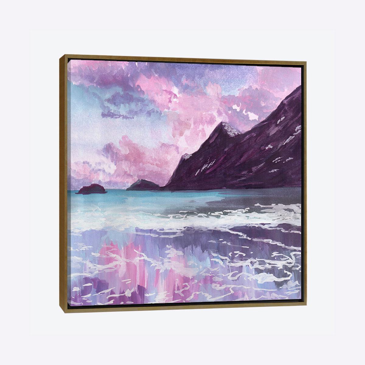 لوحات جدارية - غروب الشمس على الجبال - لوحات جدارية - كانفسي - لوحة فنية جدارية لمظاهر طبيعية بالألوان الجذابة التي تعطي طاقة حيوية وتفاؤل تتناسب مع جميع أثاثكم شاهد المزيد في متجر كانفسي
