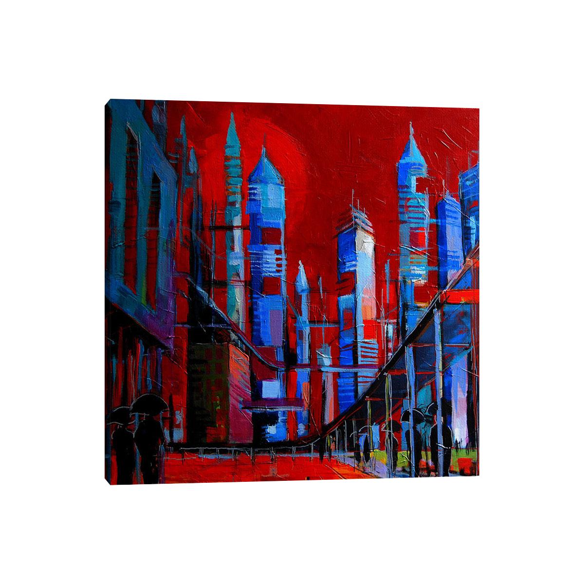 لوحات جدارية - صورة للابنية المستقبلية بكاليفورنيا - لوحات جدارية - كانفسي - لوحة فنية جدارية مدن عالمية بالألوان الجذابة التي تعطي طاقة حيوية وتفاؤل تتناسب مع جميع أثاثكم شاهد المزيد في متجر كانفسي
