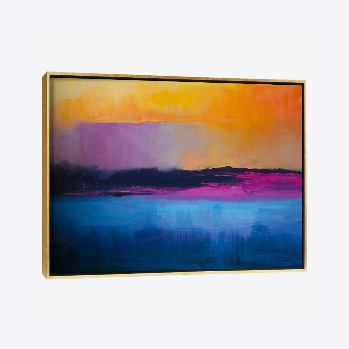 لوحات جدارية - غروب الشمس على البحر - لوحات جدارية - كانفسي - لوحة فنية جدارية تجريدية بألوان و تصاميم جذابة تعطي طاقة حيوية وتفاؤل و تتناسب مع جميع أثاثكم شاهد المزيد في متجر كانفسي
