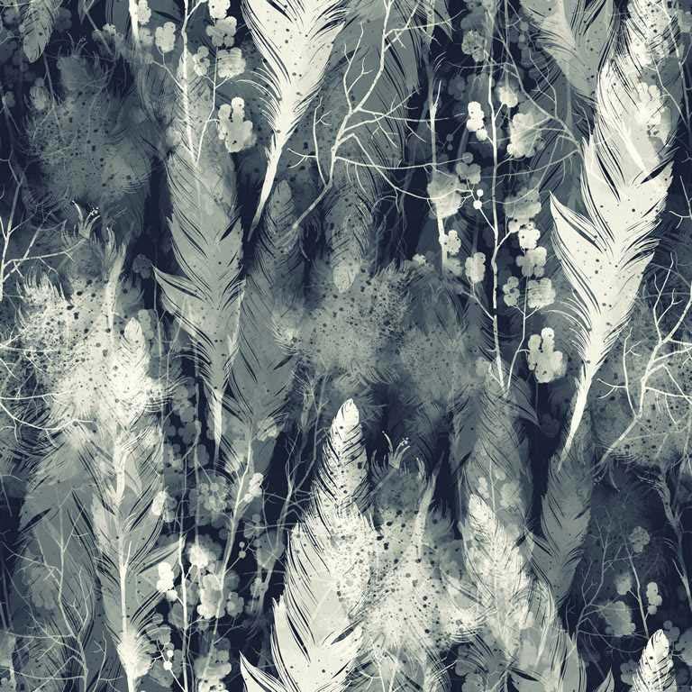 لوحات جدارية - ريش رمادي وأبيض - لوحات جدارية - لوحات فنية مميزة - لوحة حائط مفعمة بجمال تناثر الألوان المائية على كانفس مشدود عالي الجودة تعطي شعور السلام والفن الراقي مع بصمة الذوق الرفيع الذي يتناسب مع جميع أثاثكم