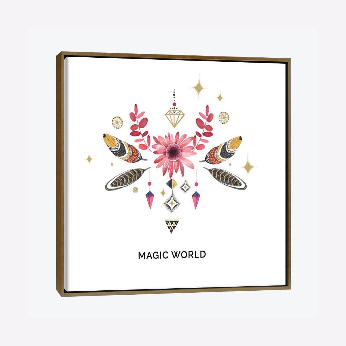 لوحات جدارية - ورد البوهيميا مع الأوراق المميزة بتصميم رائع - لوحات جدارية - لوحات فنية مميزة - لوحة حائط مفعمة بألوان الأزهار والروح الطبيعية التي تبعثها لوحات الأزهار الفنية حيث تعطي سلام وذوق رفيع يتناسب مع جميع أثاثكم