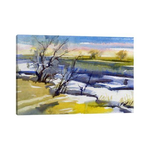 لوحات جدارية - هطول الثلج على الغابة - لوحات جدارية - كانفسي - لوحة فنية جدارية لوحات طبيعة بالألوان الجذابة التي تعطي طاقة حيوية وتفاؤل تتناسب مع جميع أثاثكم شاهد المزيد في متجر كانفسي